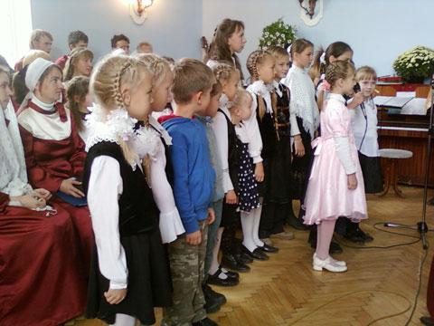 Детское служение показало, что смена тружеников уже подрастает.
