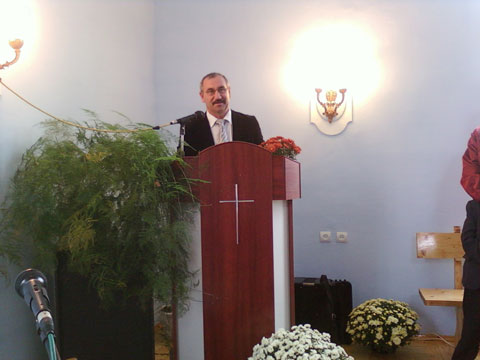 Пастор Церкви «Милосердие» Попытаев Василий.
