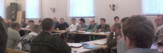 Более сорока братьев проходили обучение по курсу Гомилетка.