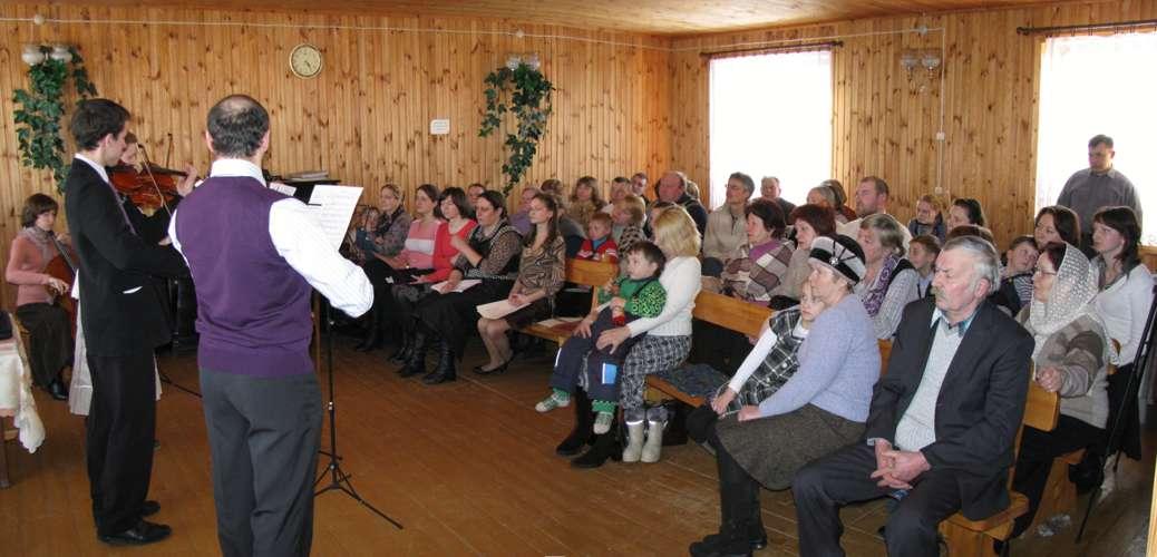 Вечер духовной музыки и поэзии в Червене